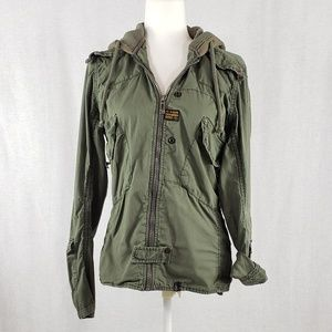 G-Star Raw light jacket with hoodie Size M